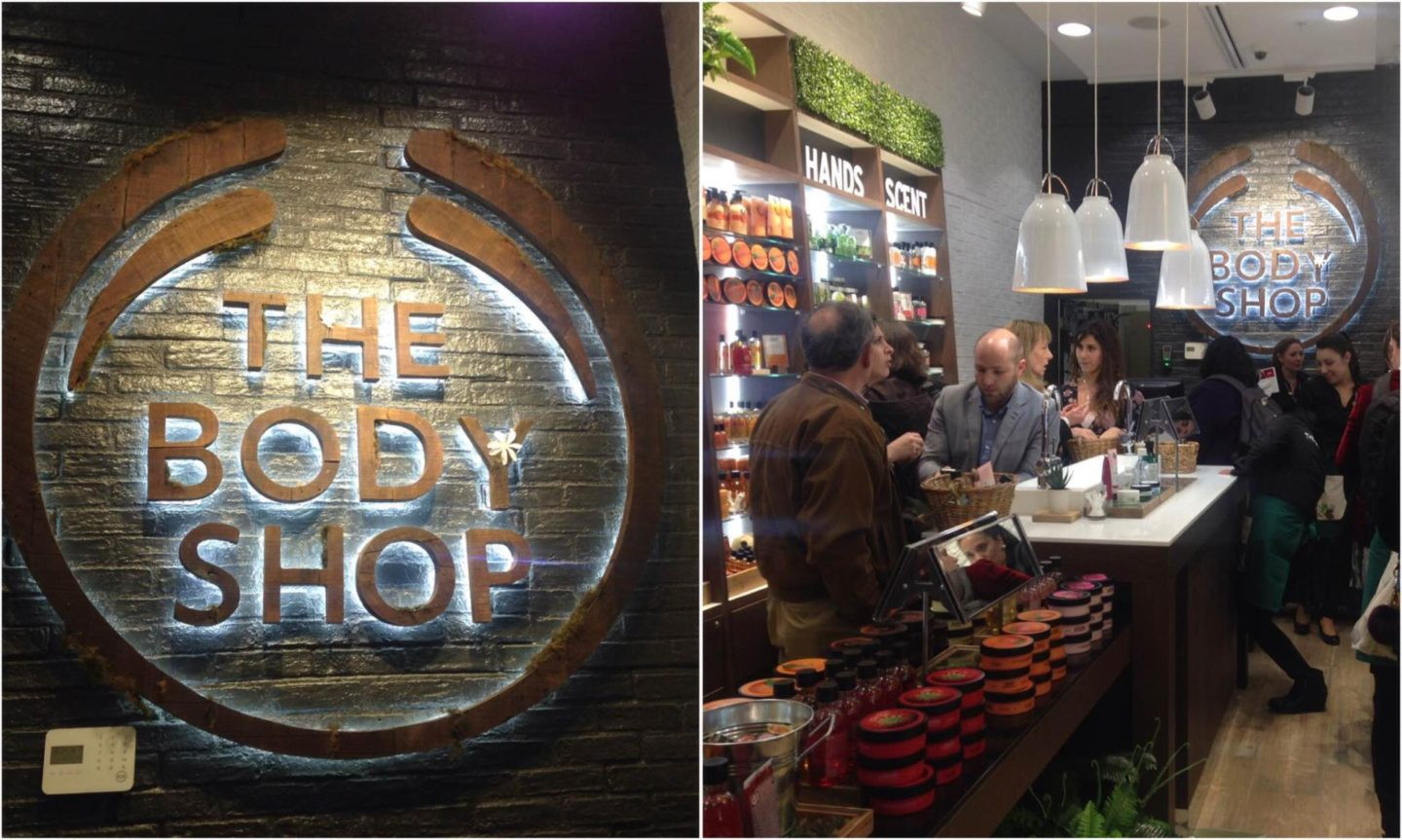 ¡The Body Shop is already in Chile!
